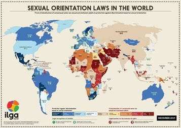 Sexual Orientattion Laws in the World